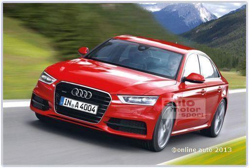 Новая Audi A4 появится в продаже в 2015 году