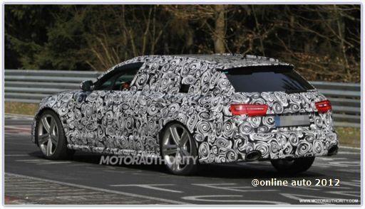 Универсал Audi RS6 на дорожных испытаниях в Германии
