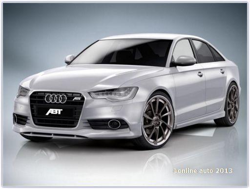 Дизельный седан Audi A6 от тюнеров ABT Sportsline - 286 л.с. мощности