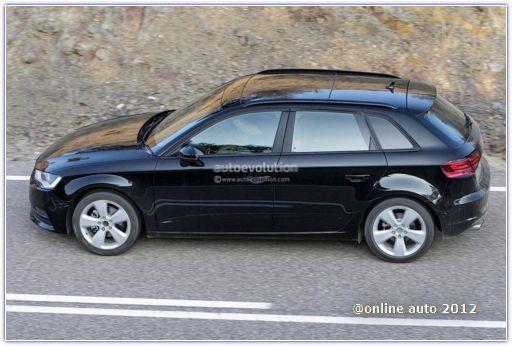 Первые фотографии пятидверного хэтчбека Audi A3 Sportback нового поколения