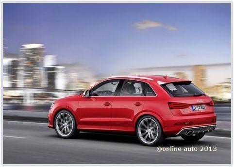 Audi рассказала о заряженном кроссовере Audi RS Q3