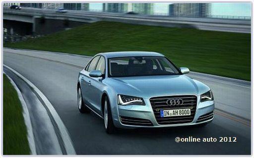 седан Audi A8 Hybrid 2012