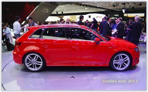 Компания Audi готовит к выпуску пятидверную версию спортивного Audi S3