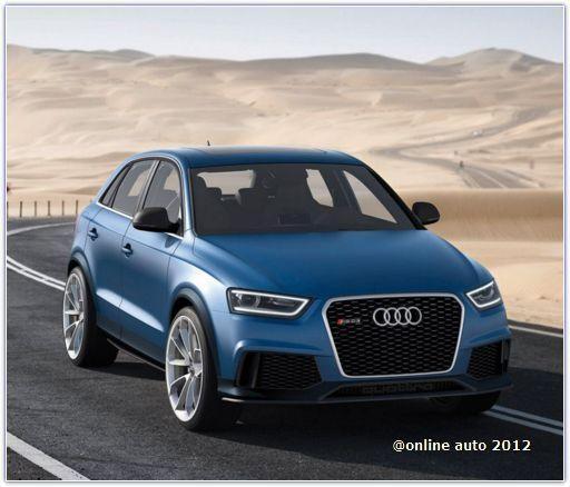 Премьера «заряженных» моделях Audi Q3 RS и RS7 запланирована на 2013 год