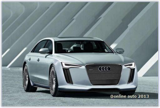 рендер Audi A9