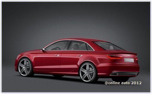 новая Audi A3 в кузове седан