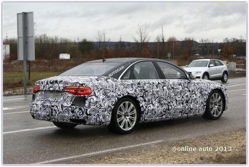 Через год мы увидим обновленный седан Audi A8
