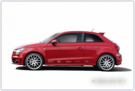 Audi A1 от тюнеров компании Eibach
