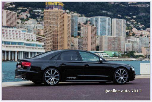 """Тюнеры MTM добавили """"лошадей"""" Audi S8"""