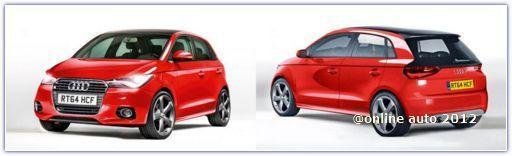 Рендер Audi A2