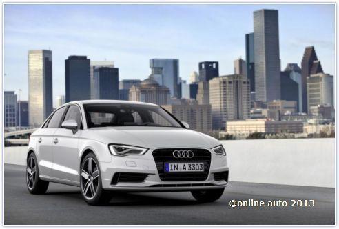 Audi A3 последнего поколения