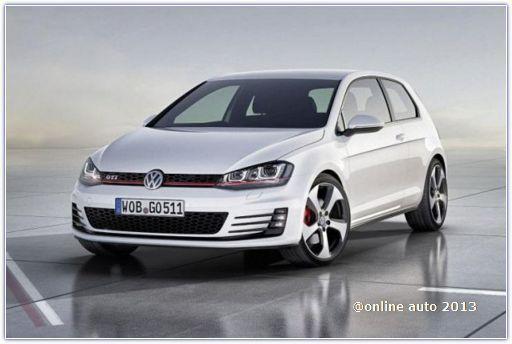 Volkswagen Golf седьмого поколения