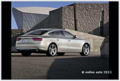 Обновленная Audi A5