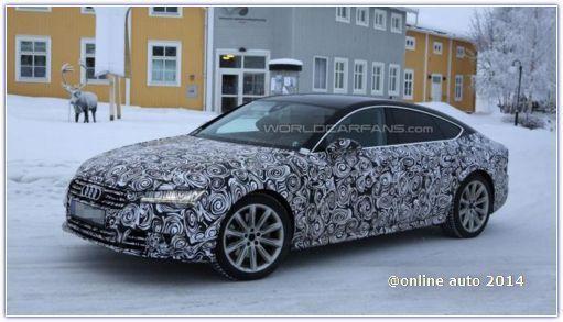 Рестайлинговые Audi A7 Sportback привезут в Женеву
