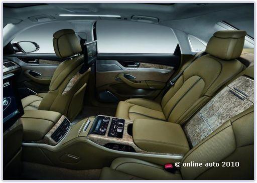 салон Audi A8 L