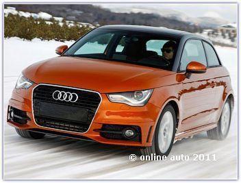 Полноприводная версия Audi A1