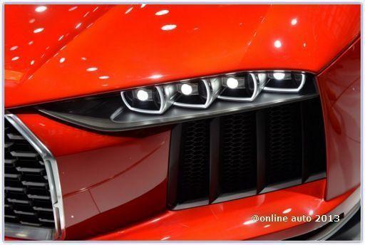 Новинки Audi на автосалоне во Франкфурте:концепт nanuk quattro
