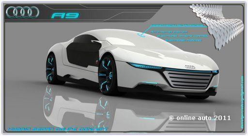 "Фантазии на тему ""Audi A9"" испанского дизайнера Даниеля Гарсиа (Daniel Garcia)"