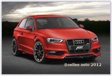 Новые доработки последнего поколения Audi A3 тюнерами ателье АВТ