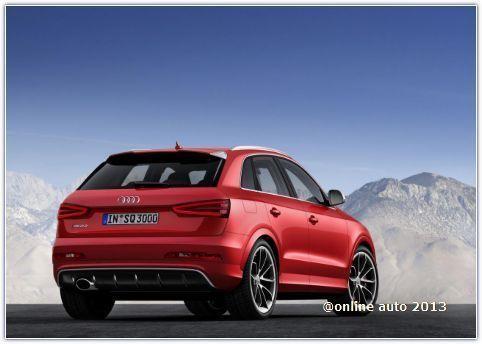 В России начали принимать заказы на кроссовер Audi RS Q3