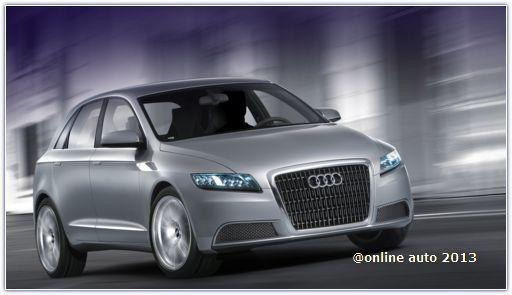 Audi готовит к премьере во Франкфурте концепт своего первого компактвэна