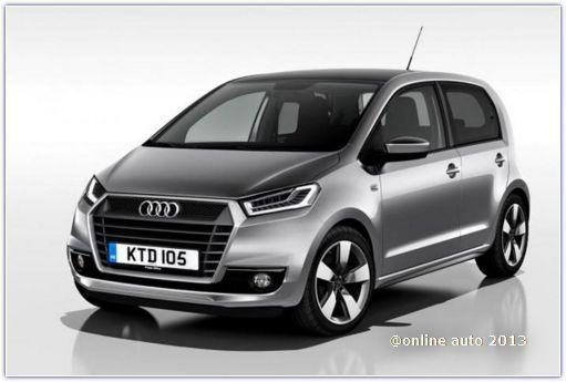 Уже через пару лет модельный ряд Audi может пополниться компактной моделью, разработанной на основе Volkswagen Up!