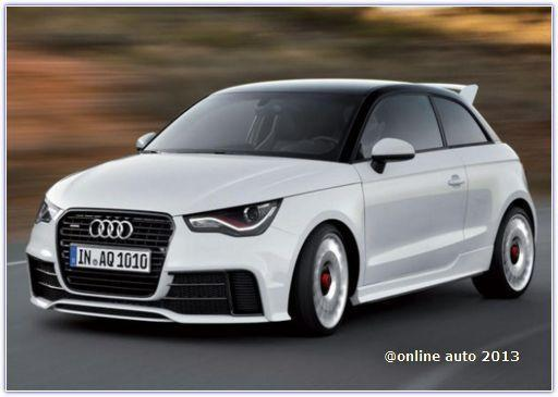 Audi A1 Quattro 2013