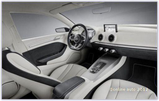 Салон Audi A3 2012