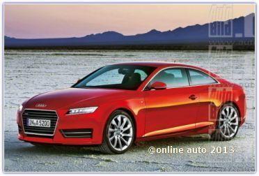 Новая информация об Audi A5 второго поколения