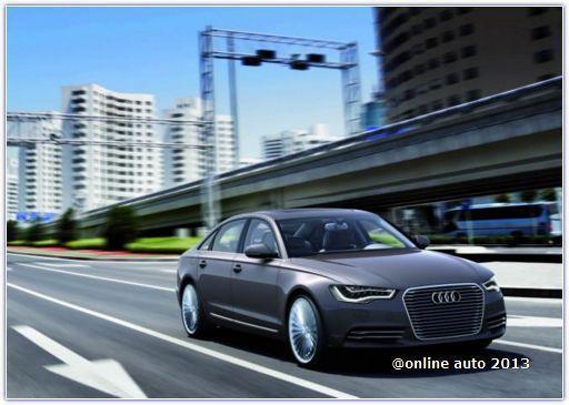 На автосалоне во Франфурте Audi покажет гибридный хэтчбек А6