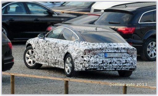 В 2014 году компания Audi готовится представить рестайлинговую версию модели Audi A7