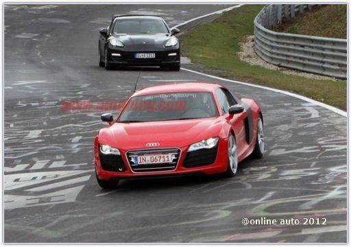 Рекордный заезд электромобиля Audi R8 e-tron