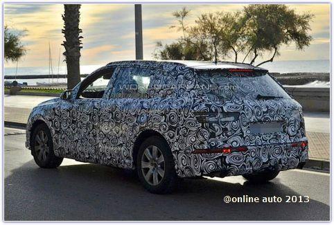 Новые фотографии прообраза Audi Q7 NEXT