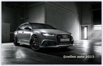 Модельный ряд компании Audi пополнился новым RS6 Avant