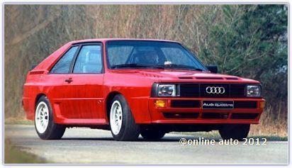 Audi Sport Quattro 1980