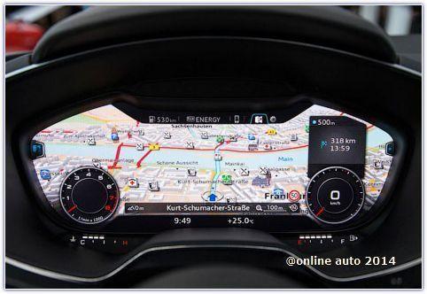 Официальная информация об интерьере новых Audi TT