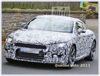 В Интернете появились фото прототипа нового купе Audi TT