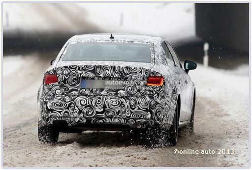 Первые снимки седана Audi A3 нового поколения