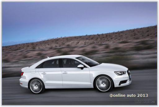 """Американское представительство Audi """"рассекретило"""" новый седан А3"""