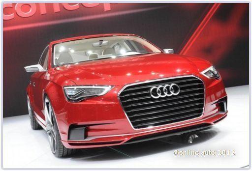 Концепт Audi A3 Sedan