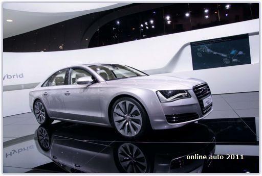 концепт Audi A8 Hybrid