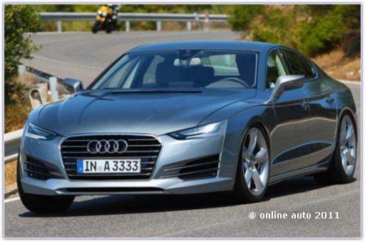 Audi A9 - эскиз неизвестного дизайнера