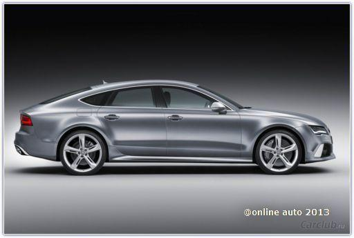 Компания Audi привезла в Детройт новый RS7 Sportback