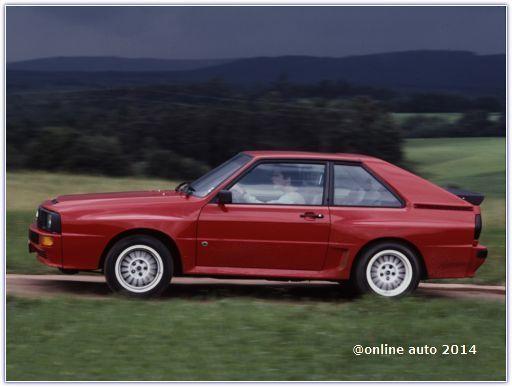 Audi Sport Quattro 1984–1986