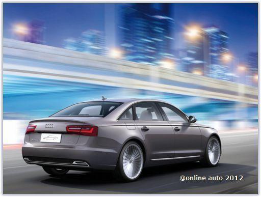 Концепт Audi A6 L e-tron