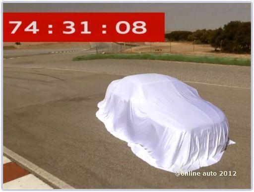 Кадры из видеоролика, анонсирующего кабриолет Audi RS5