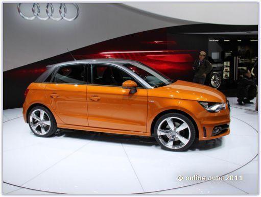 Audi  A1 Sportback на представлении в Токио
