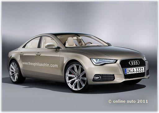 модель Audi A6 следующего поколения