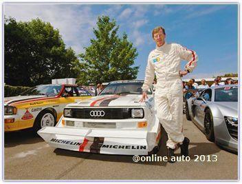 Audi Sport quattro S1, пилотируемый двукратным чемпионом по ралли Вальтером Рёрлем, вновь выйдет на трассу!