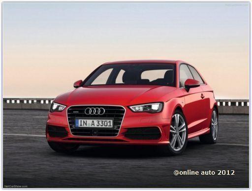 новое поколение автомобилей Audi A3 в кузове хэтчбек